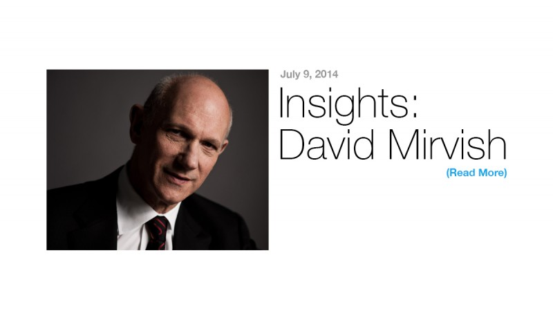 Insights: David Mirvish